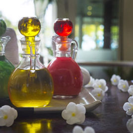 Thai-Aromaöl-massage