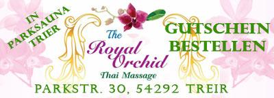 Royal Orchid Thaimassage Trier Gutschein