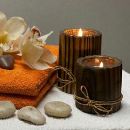 Neu! Kerzenwachs-Massage